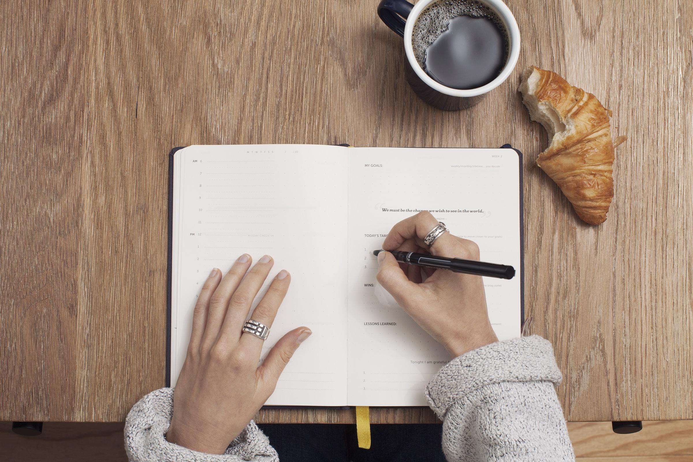 朝に書く日記