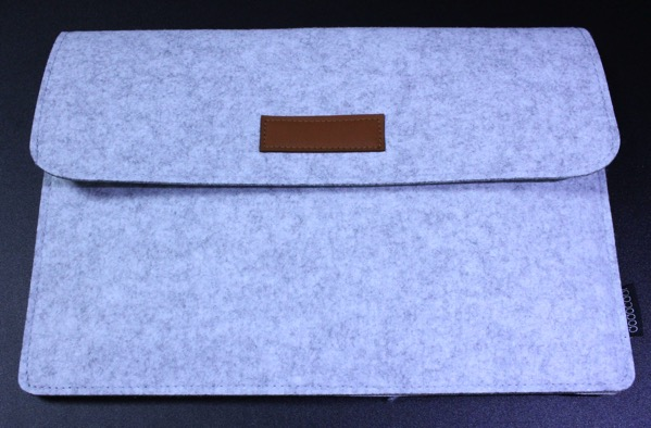 Dodocoolのフェルト製MacBook用スリーブケース2