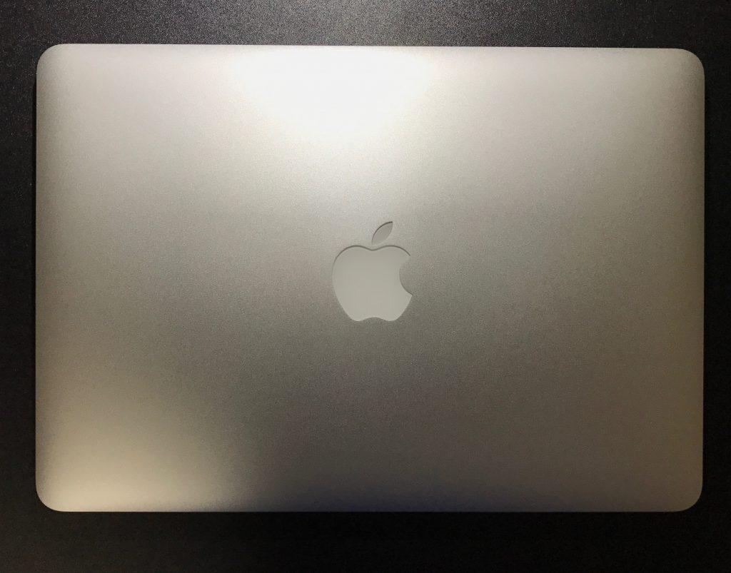 修理に出していたMacBookPro
