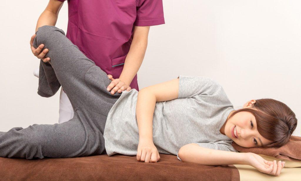 足腰にたまりやすいリンパや血液の流れの改善