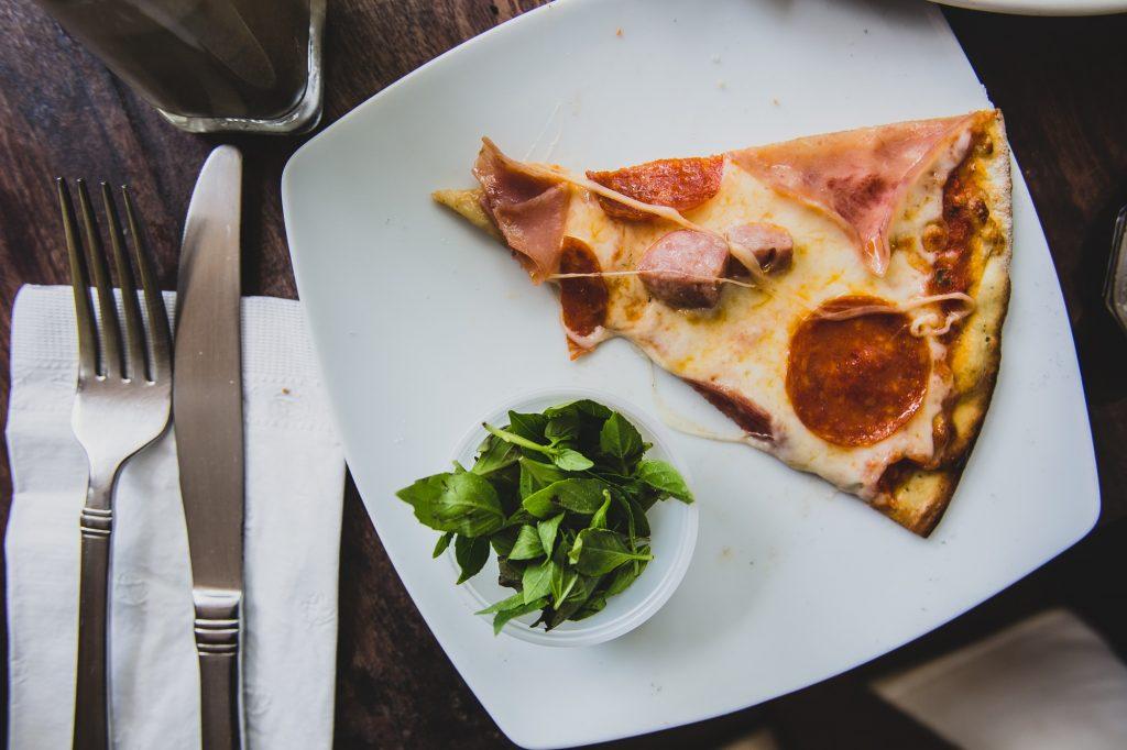 追加注文したピザ
