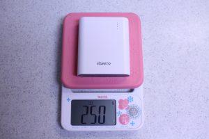 cheeroのモバイルバッテリー