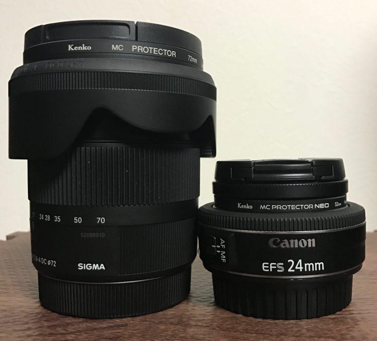 一眼レフカメラ初心者の僕の交換レンズ