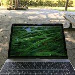 MacBookが僕の相棒。いつも一緒にお出かけしてくれます。