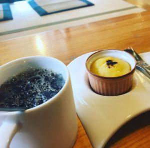 コーヒーとスイートポテト