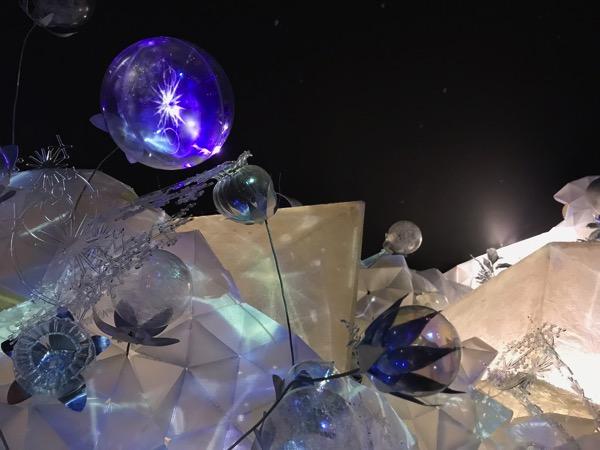 FLOWERS by NAKED NAGOYA デジタルアートと女神の舞8
