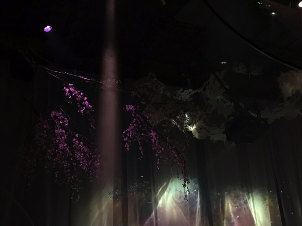 FLOWERS by NAKED NAGOYA デジタルアートと女神の舞12