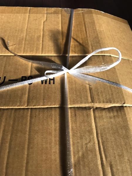 意外と知られていない ダンボールをビニーニ紐で結ぶ簡単な方法8