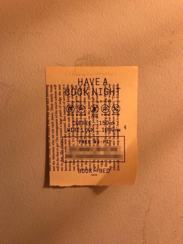 池袋の泊まれる本屋「BOOK_AND_BED_TOKYO」への宿泊レビュー!16