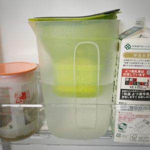飲料代を節約できる!水道水をろ過して美味しい水が作れるBRITAの浄水ポット!