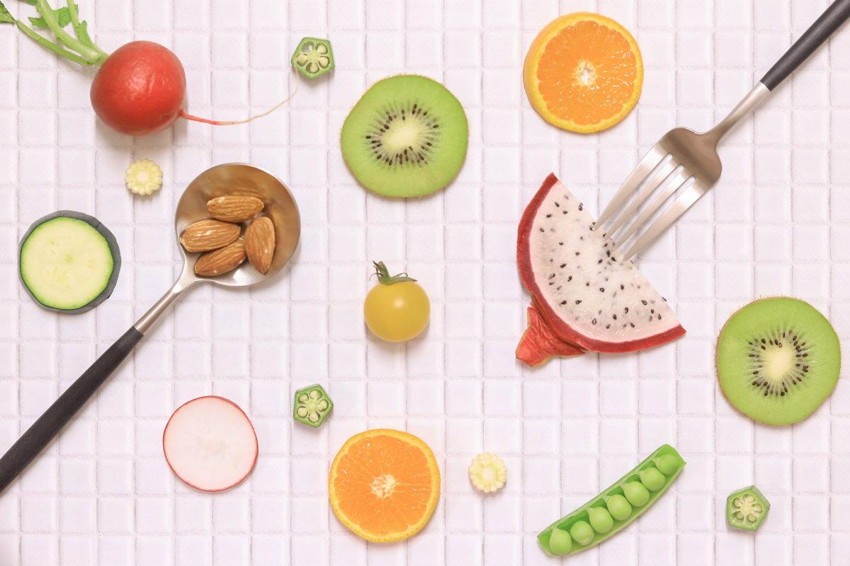フルーツや野菜が選び放題