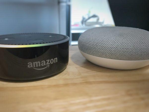 AmazonEcho GoogleHome