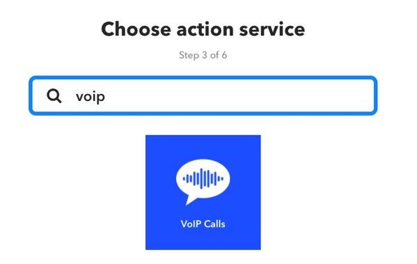 AmazonEchoでiPhoneを探す IFTTTで電話をかける 方法6