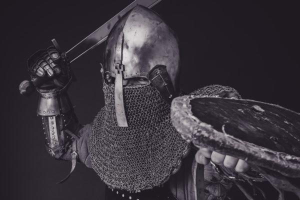 鎧を着た戦士